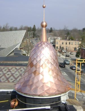 ornamental roofing example